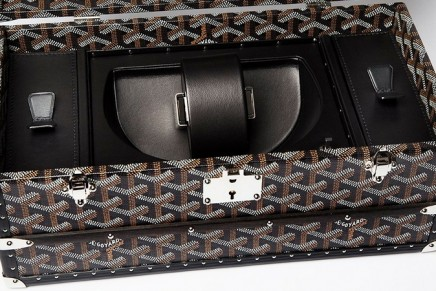 The Tourne-montre Case celebrates Goyard's most timeless aesthetic codes