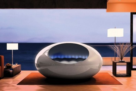 The Tranquility Pod with biofeedback system induces sleep by reading your heartbeat