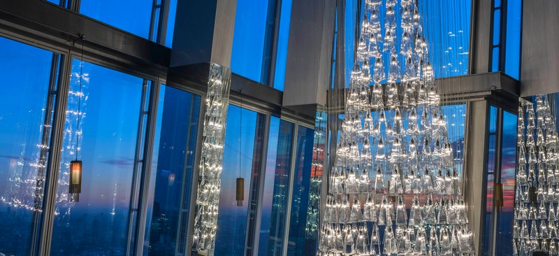 'The Tree of Glass' by Lee Broom with Nude at Aqua Shard-