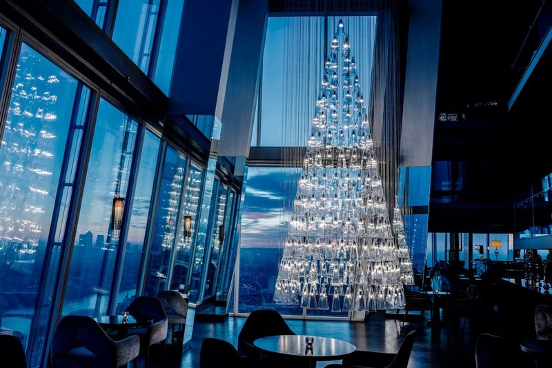 'The Tree of Glass' by Lee Broom with Nude at Aqua Shard