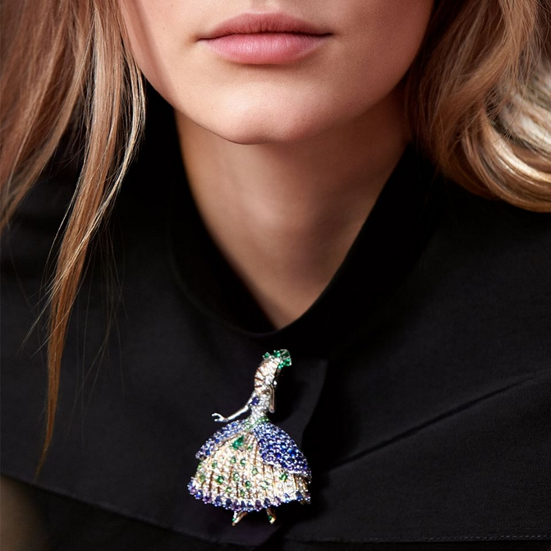 The Twelve Dancing Princesses, a tale from Quatre Contes de Grimm, the new High Jewelry collection