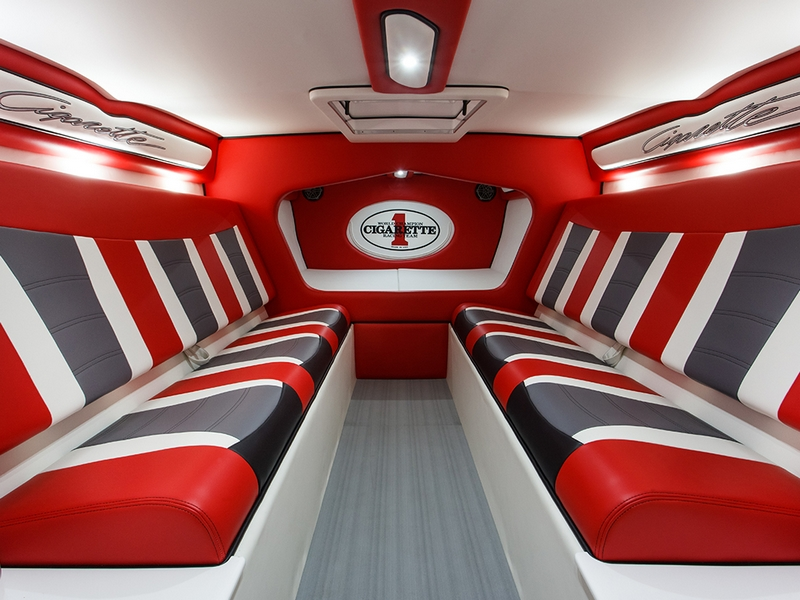 The Ultimate Cigarette - Welcome to the all-new Marauder SS- the interior