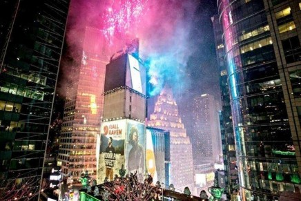 Truly a once in a lifetime experience: Ring in 2019 Atop Times Square