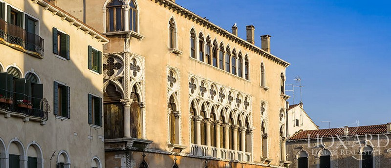 The Venetian Palace Once Home to Giorgione The Tempest-