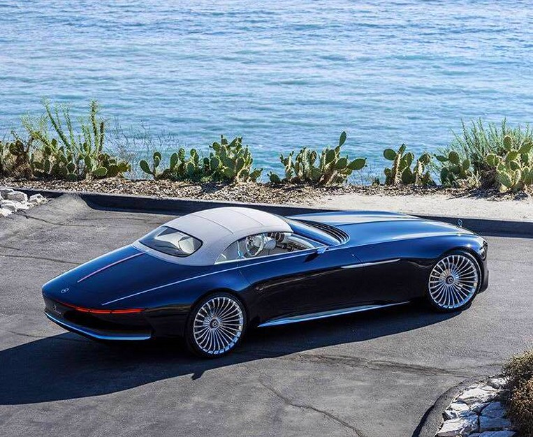 The Vision Mercedes-Maybach 6 Cabriolet-