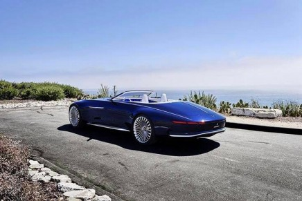 Automotive Haute Couture: Vision Mercedes-Maybach 6 Cabriolet