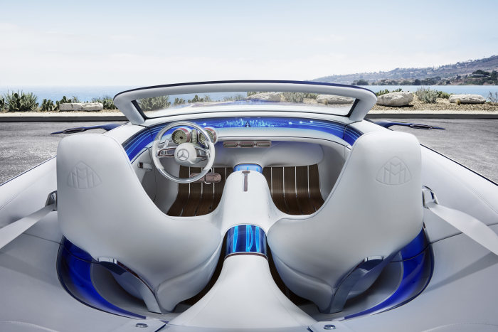 The Vision Mercedes-Maybach 6 Cabriolet-concept car interior-