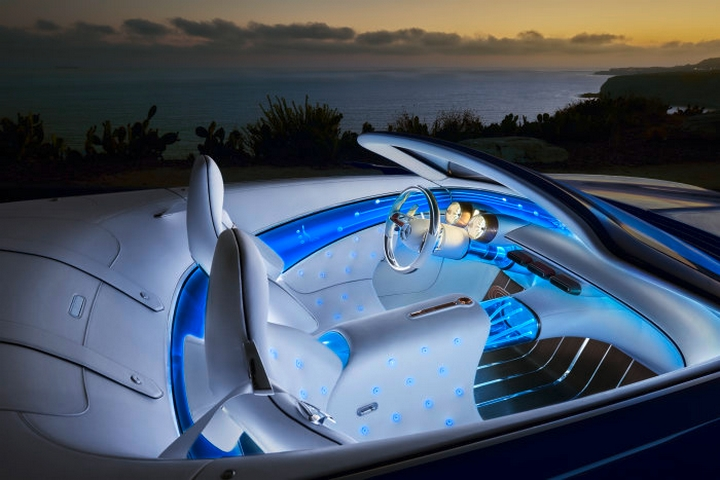 The Vision Mercedes-Maybach 6 Cabriolet-concept car interior