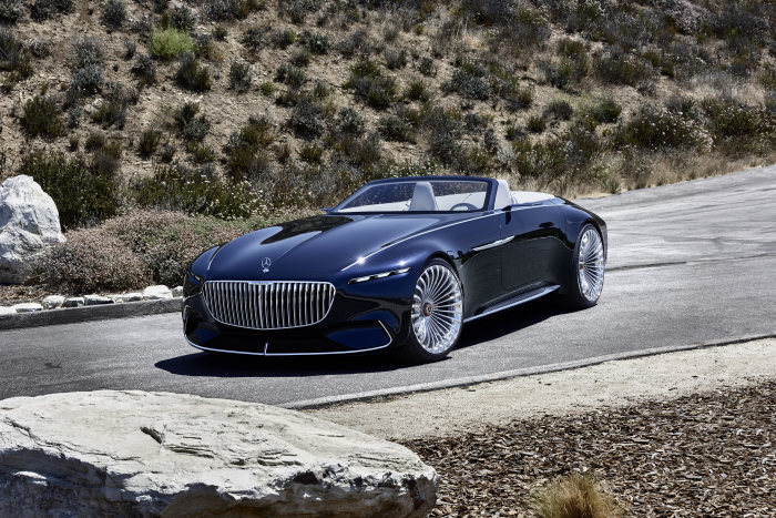 The Vision Mercedes-Maybach 6 Cabriolet-gallery