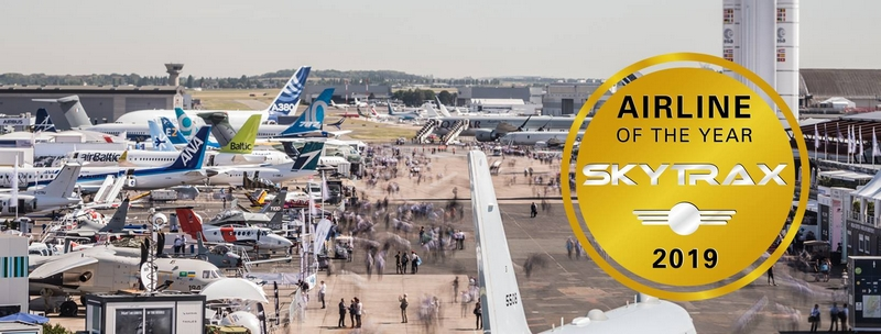 The World's Top 10 Airlines of 2019 revealed at 2019 Paris Air Show--
