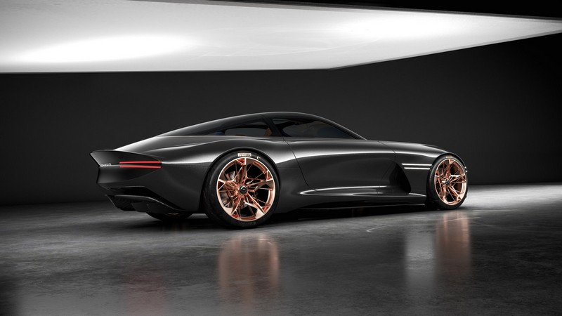 The all-electric, high-performance Essentia Concept elevates and reimagines the Genesis Athletic Elegance