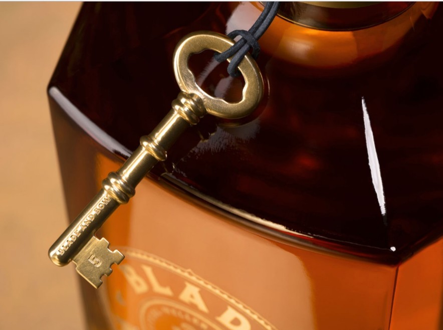 The award-winning Blade and Bow 22-Year-Old Kentucky Straight Bourbon Whiskey