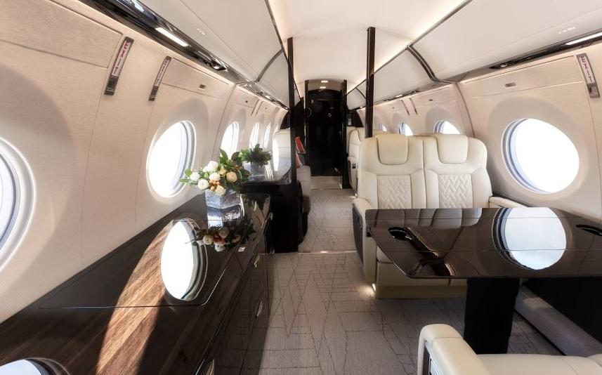 The award-winning G600 just made its Paris Airshow debut - interior