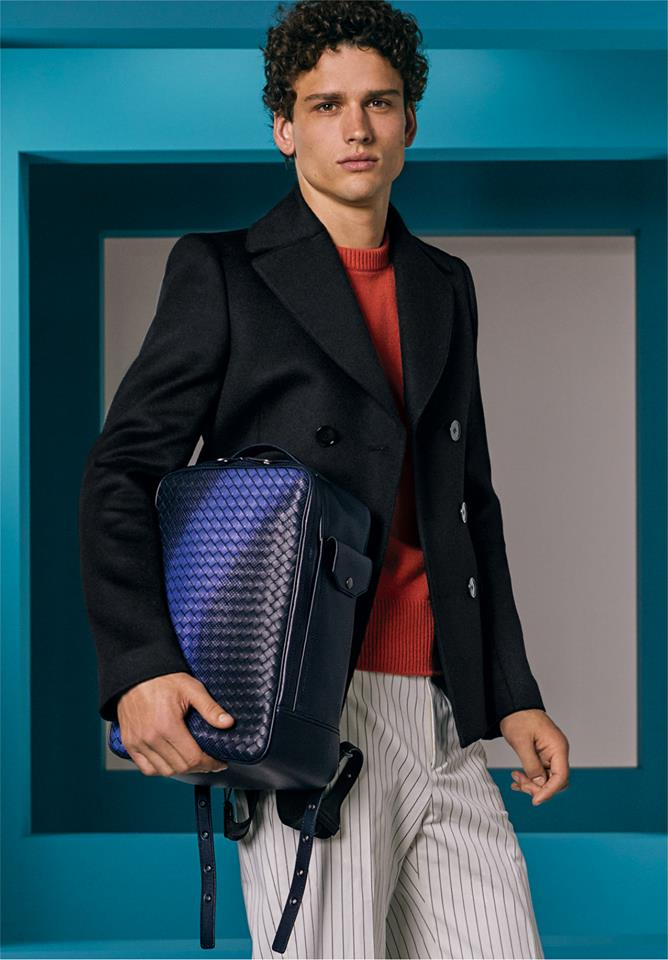 The backpacks, dossiers and totes of Bottega Veneta Cruise 2018 collection merge innovation with a utilitarian sensibility