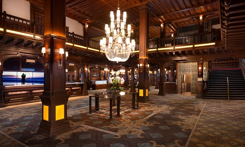 The beloved Hotel del Coronado will celebrate its 130-year anniversary - hotel lobby