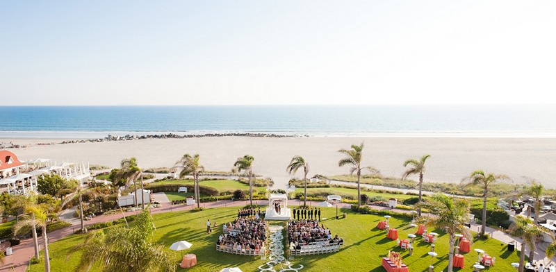 The beloved Hotel del Coronado will celebrate its 130-year anniversary - wedding paradise