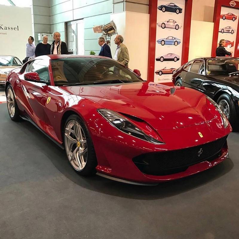 The brand new Ferrari 812 Superfast