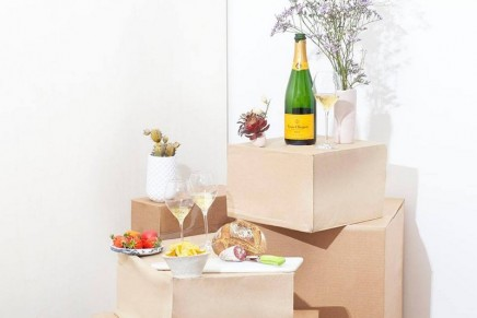 Veuve Clicquot yellow label marks its 140th anniversary