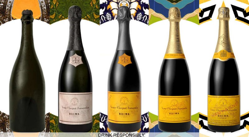 The distinctive yellow color became identified Maison Veuve Clicquot