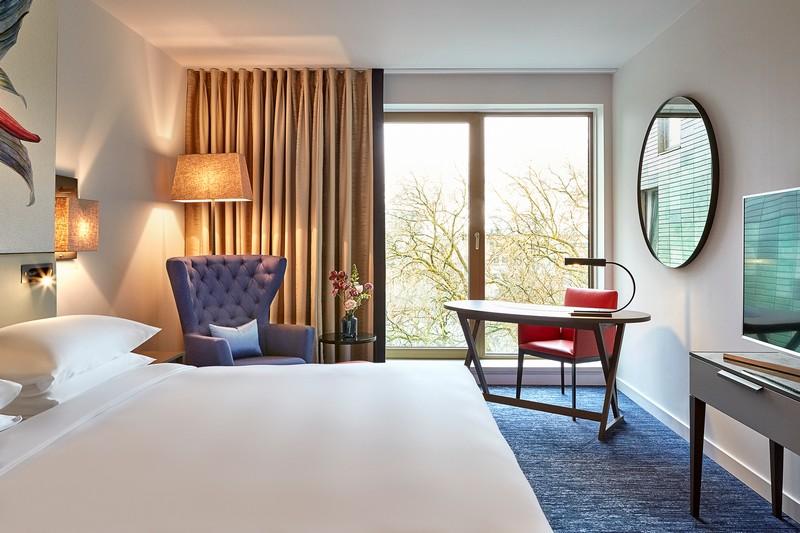 The first Hyatt Regency hotel opens in The Netherlands
