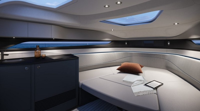 The first Princess R Class performance sports yacht to debut at 2018 Cannes Yachting Festival - int