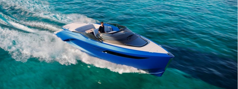 The first Princess R Class performance sports yacht to debut at 2018 Cannes Yachting Festival