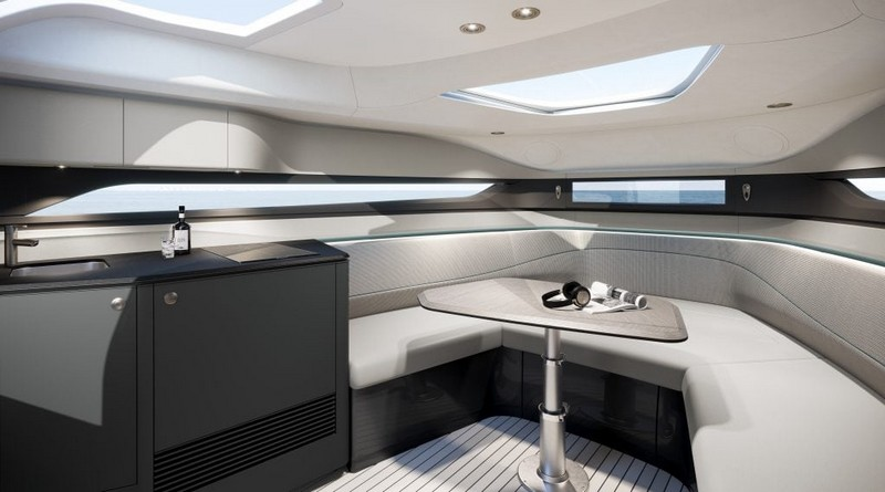 The first Princess R Class performance sports yacht