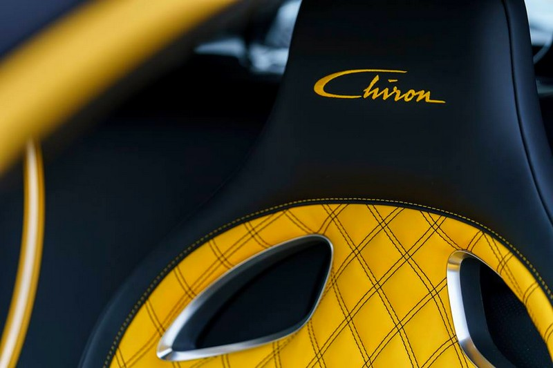 The first US Chiron is a real eyecatcher - Pebble Beach 2017 - interior-