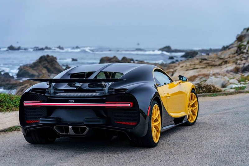 The first US Chiron is a real eyecatcher - Pebble Beach