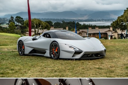 The first production SSC Tuatara to debut at the Monterey Car Week