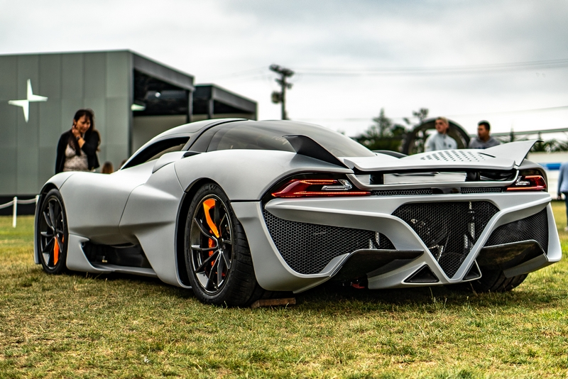 The first production SSC Tuatara to debut at the Monterey Car Week 2019