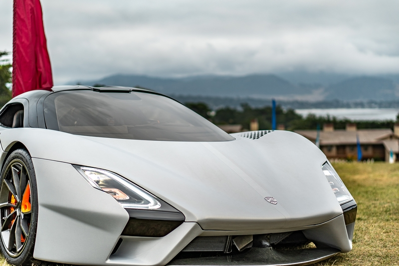 The first production SSC Tuatara to debut at the Monterey Car Week,