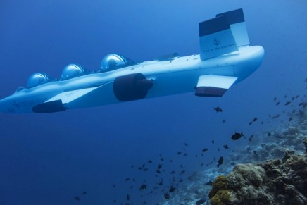 Buckle Up for DeepFlight's First 3-Person Submarine: A World-Exclusive Wonder in the Maldives