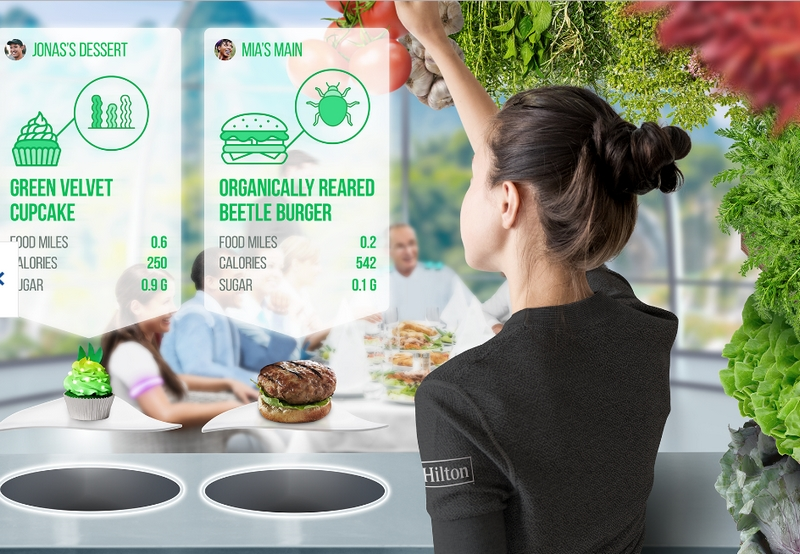 The future trends set to dominate the travel and hospitality industry in the next 100 years - Hilton Dining in 2119