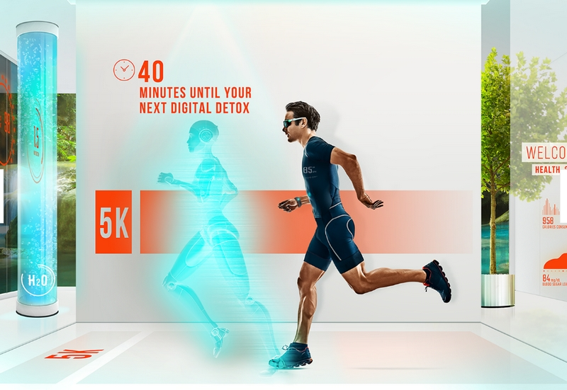 The future trends set to dominate the travel and hospitality industry in the next 100 years - Hilton fitness in 2119