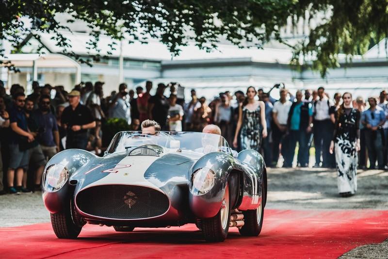 The grand winners of Concorso d'Eleganza Villa d'Este, the Ferrari 335 Sport from Andreas Mohringer-2018--