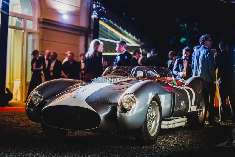 The grand winners of Concorso d'Eleganza Villa d'Este, the Ferrari 335 Sport from Andreas Mohringer-2018