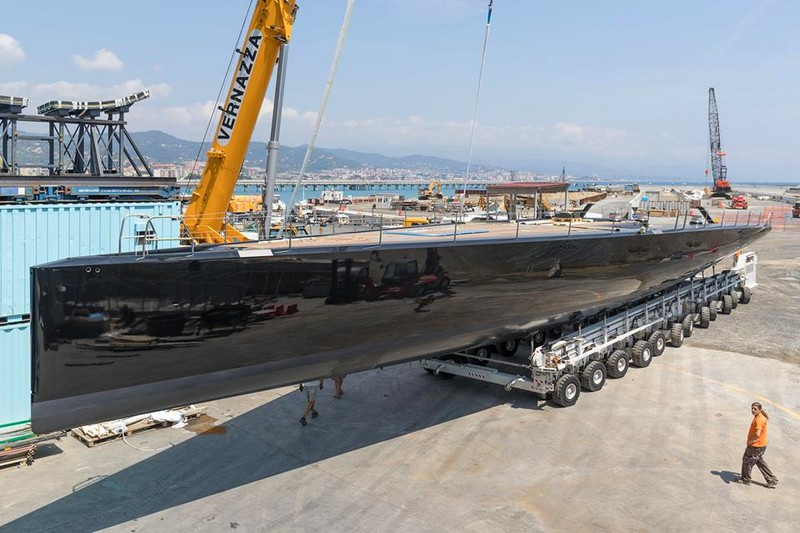The latest WallyCento Superyacht is a sleek, light, and exciting sailing machine-