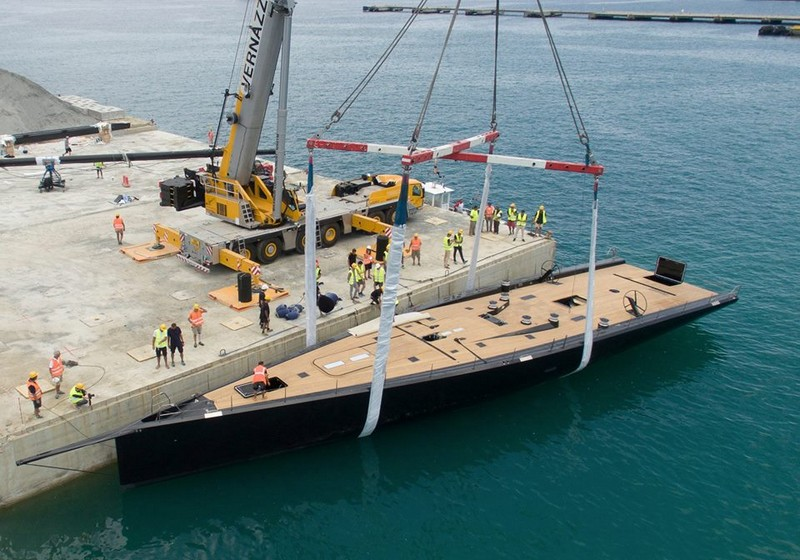 The latest WallyCento Superyacht is a sleek, light, and exciting sailing machine-2017-the launch-
