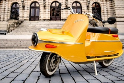 The legendary Čezeta bike is back – this time as a luxury electric scooter