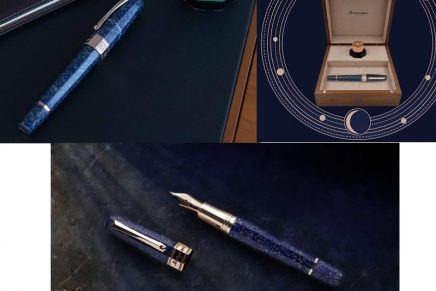 Heavenly writing: Limited-edition Extra Otto Sapphirus lapis lazuli luxury writing instrument