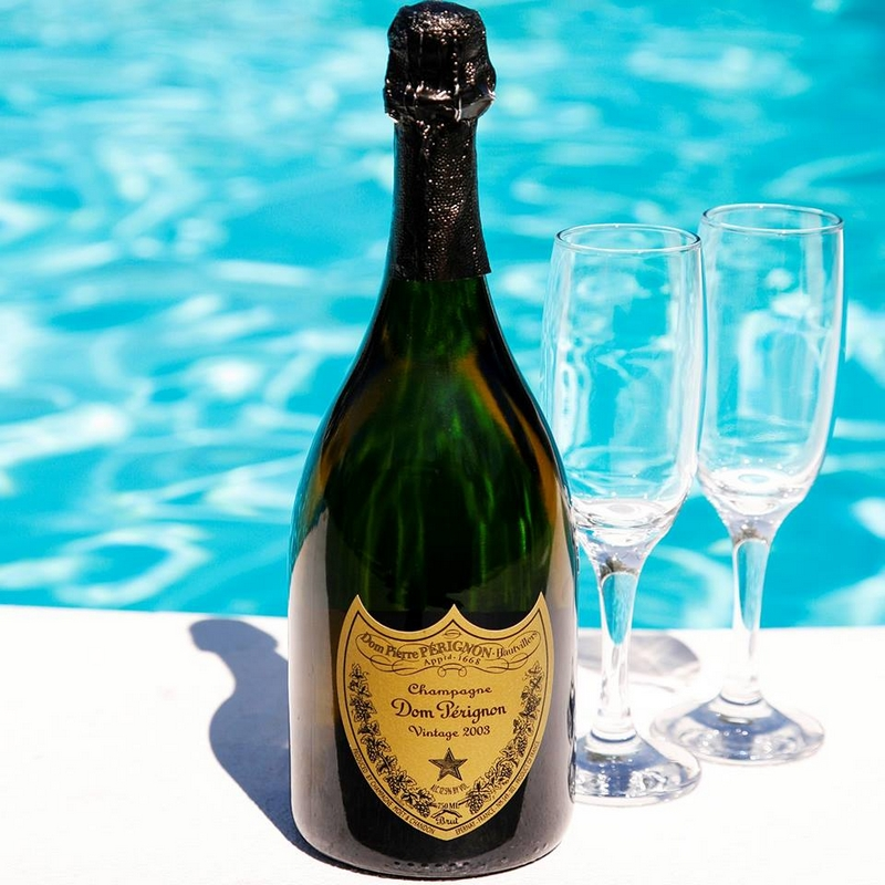 The most prestigious champagne chilled and right to your door within an hour