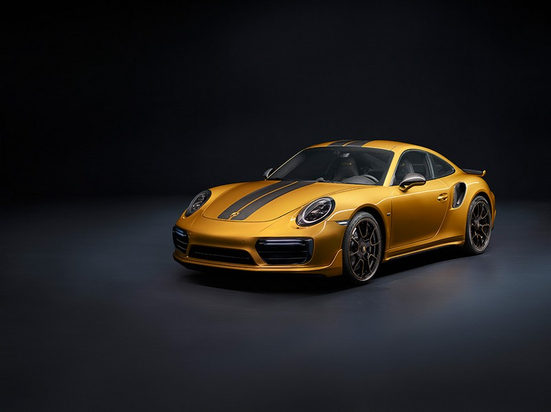 The new 911 Turbos Exclusive Series