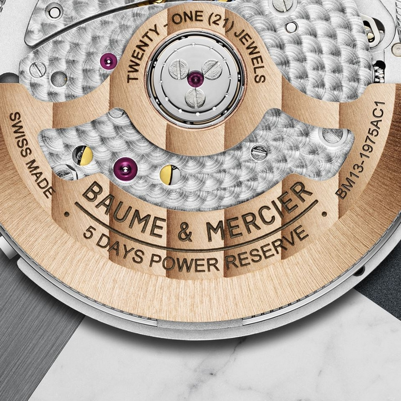 The new Baume & Mercier Clifton Baumatic Perpetual Calendar timepiece - revealed at SIHH