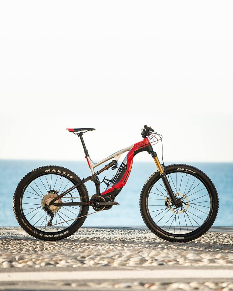 The new Ducati MIG-RR - a true high-end e-mtb-