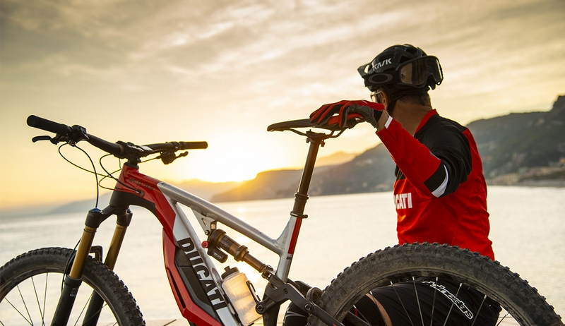 The new Ducati MIG-RR - a true high-end e-mtb