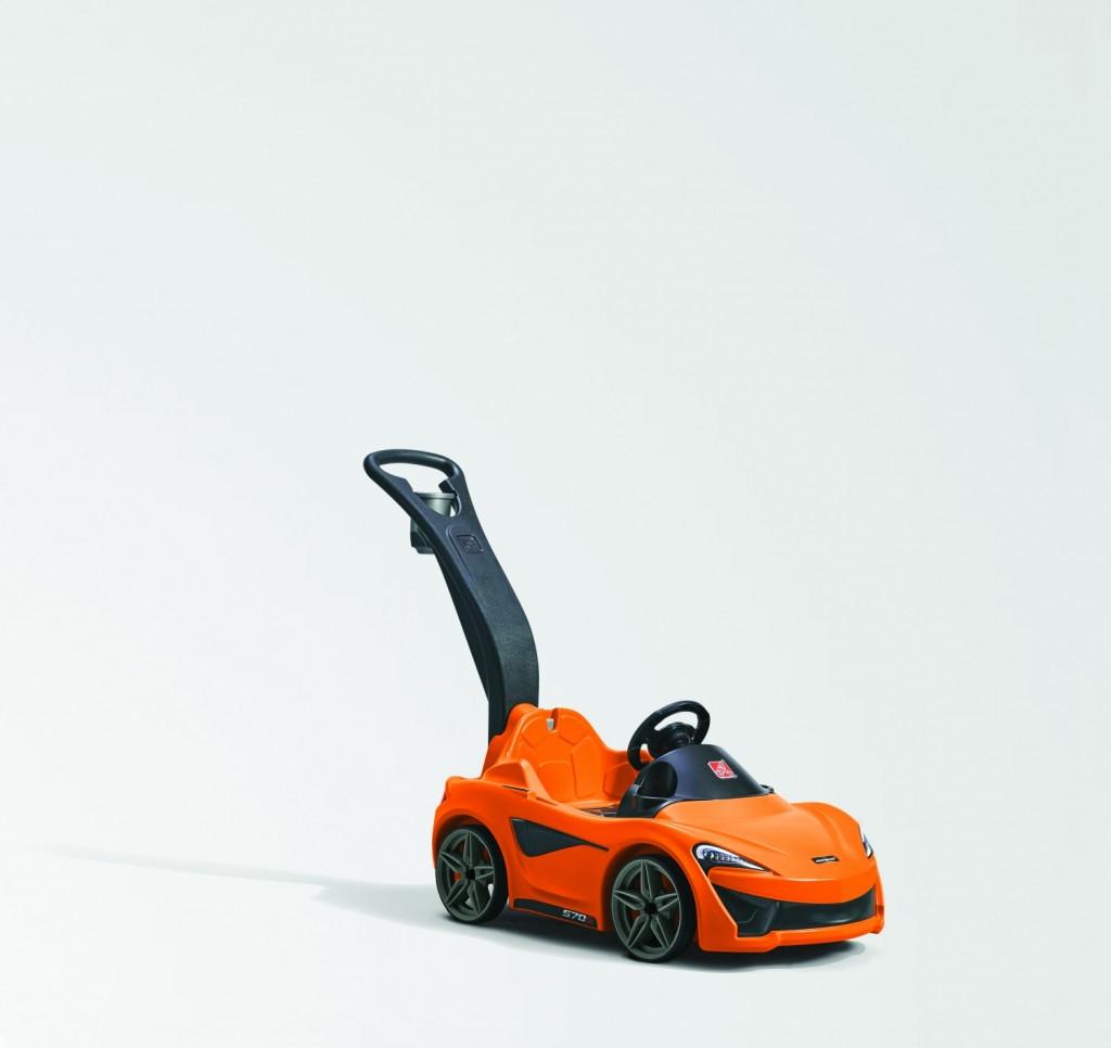 The new McLaren 570S Push Sports Car