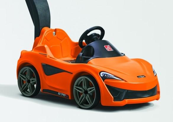 The new McLaren 570S Push Sports Car - details