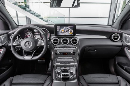 GLC43 Coupe is the latest vehicle to say AMG on the back