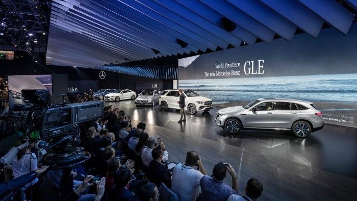 The new Mercedes-Benz GLE, presented by Ola Källenius-2018 Paris Auto Show